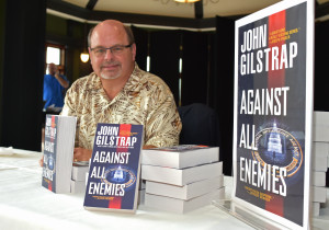 Author John Gilstrap at YouthQuest's 2015 Challenge at Trump National tournament reception