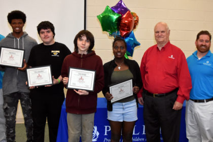 3D ThinkLink students and instructors at PHILLIPS School in Annandale, Virginia, June 10, 2016.