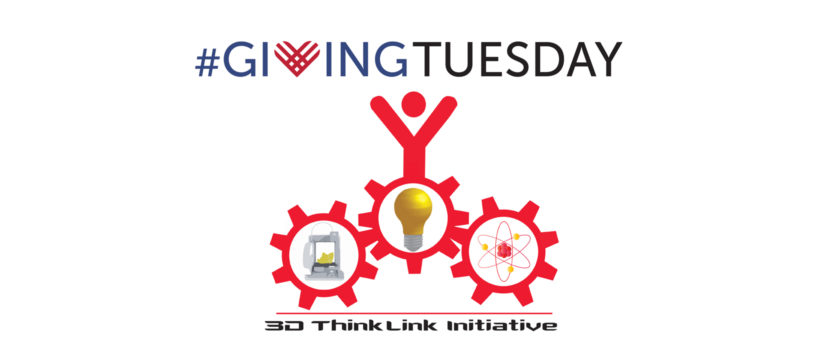 Giving Tuesday 2016 3D ThinkLInk logo