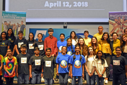 2018 Step Up Loudoun Youth Competition finalist teams