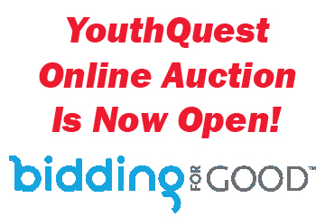 YouthQuest Online Auction Open Now